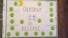 Countdown to release
