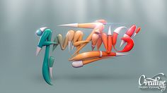 Amazing Text in Cinema 4D Tutorial