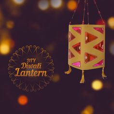 This Diwali, decorate your home with this beautiful lantern made using simple paper craft techniques. Let's celebrate the festival of lights with this DIY and spread the joy or art.