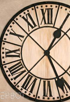 9 incredibly fantastic diy large wall clocks