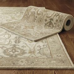 Catherine Rug at Ballard Designs. Rug swatches are available. Largest size is 10x14. Maybe for Jason's bedroom?