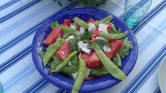 Vattenmelon & bönor Caprese Salad, Cobb Salad, Food, Essen, Meals, Yemek, Insalata Caprese, Eten