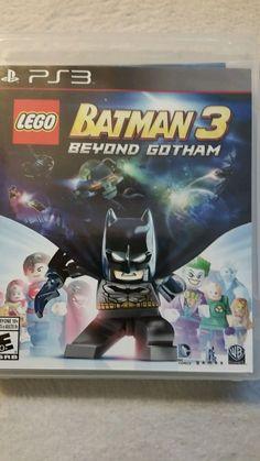LEGO Batman 3: Beyond Gotham (Sony PlayStation 3, 2014)
