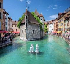 Beauty of Annecy France