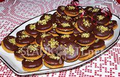 Perníčky s povidly a čokoládovou polevou – Hančiny Sladkosti.net Cake, Desserts, Food, Tailgate Desserts, Deserts, Kuchen, Essen, Postres, Meals