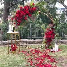 Church wedding stage backdrops ideas for 2020 Wedding Reception Ideas, Church Wedding Decorations, Wedding Entrance, Wedding Ceremony, Wedding Church, Wedding Bride, Outdoor Ceremony, Fall Wedding Arches, Red Rose Wedding