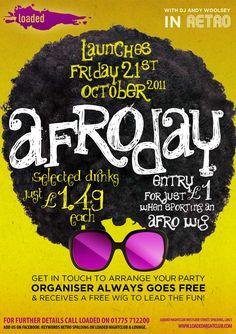 Afroday promotion
