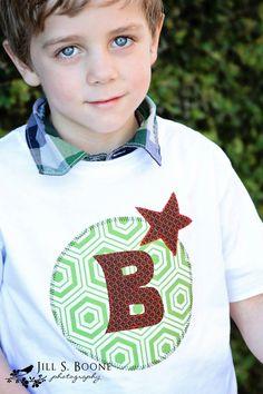 Kate Elizabeth Designs - Lollipop Parade Boy Applique shirt