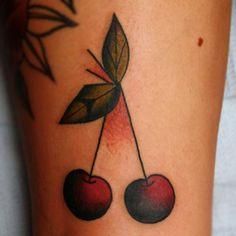 Cherries tattoo