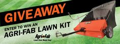 Win a Lawn Sweep + Smart Spreader + Aerator + Dump Cart!! http://woobox.com/noqmmz/iow77r #giveaway 3/31