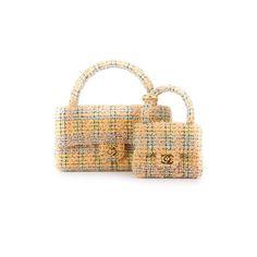 Chanel Vintage Set aus zwei Tweed-Handtaschen - http://td.oo34.net/cl/?aaid=sbghe41sjzdf3ni6&ein=i69s20y5anv3t1ku&paid=eg6pw0wqc6we326o - shopping - bag - tasche - handtasche - chanel - vintage