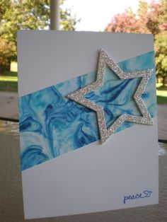 Peaceful Starry Night~ by stampin'nana - Cards and Paper Crafts at Splitcoaststampers
