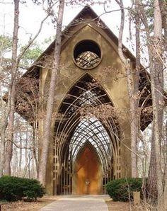 Fay Jones Chapel.