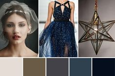 A whimsical, ethereal, utterly swoony wedding theme - I Love You to the Moon and Back, starry night wedding inspiration. Melding deep indigos and grey with s. Wedding Reception Themes, Gold Wedding Theme, Rose Wedding, Dream Wedding, Trendy Wedding, Wedding Ideas, Wedding Stuff, Galaxy Wedding, Starry Night Wedding