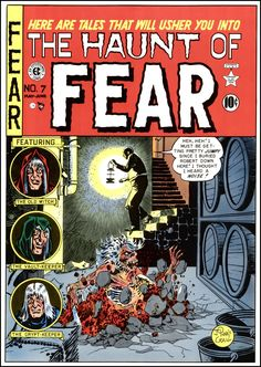 The Haunt of Fear ~ Art by Johnny Craig