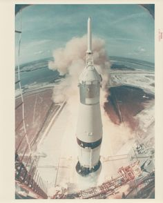#hpmlaunch The First Photographs of Space Travel - Robinson Meyer - The Atlantic  The Saturn V rocket bearing Apollo 11 taking off on July 16, 1969.  (NASA / Breese Little)