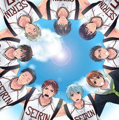 Kuroko no Basuke. Go Seirin! Can't wait for the next chapter ><  #kuroko #anime #manga