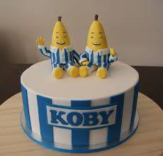 banana in pyjamas cake - Google Search Bananas And Pajamas, Banana In Pyjamas, 2nd Birthday Parties, Birthday Cakes, Birthday Ideas, Banana Party, Hungry Caterpillar Cake, Cake Craft, Cake Central