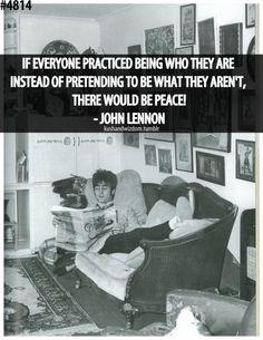Lennon on peace