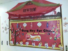 Chinese New Year bulletin board