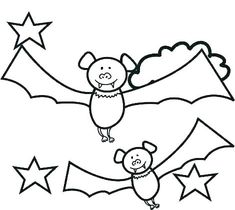 In funny realistic and cartoon of bat coloring pages, kids ages 4 and up will enjoy hours of happy entertainment while reinforcing their knowledge of Bat Coloring Pages, Coloring Pages For Kids, Bats, Twins, Snoopy, Funny, Top, Animals, Fictional Characters
