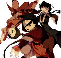 Tags: Anime, Dagger, Fight Stance, Avatar: The Last Airbender, Acrobatics, Shuriken, Azula