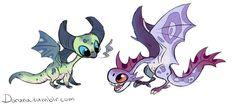 Mini dragons 2 by DoruDrutt