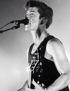 There he is again. Alex Turner.