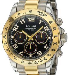 Accurist Chronograph Gold