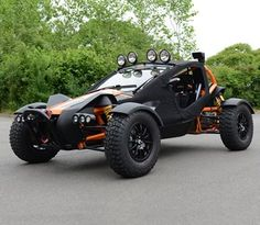 A modern buggy designed for the rough and tough of the wild but just as home in the city and just as much fun. Custom Trucks, Custom Cars, Offroad, E Quad, Ariel Nomad, Diy Electric Car, Off Road Buggy, Sand Rail, Beach Buggy