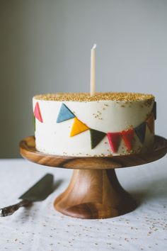 delta-breezes: Funfetti Cake | Molly Yeh on We Heart It.