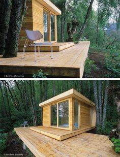 Hardanger Retreat: Modern Fjord Cabin - Busyboo