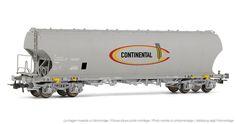 "Electrotren - E8019 - Vagón tolva ""CONTINENTAL"" - Hornby® International"