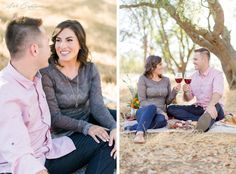 Picnic themed engagement shoot in El Dorado Hills ca