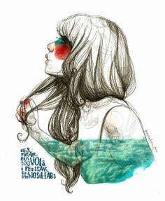 """""""Respirar els núvols"""" by Paula Bonet."""
