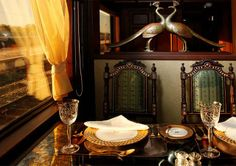 Maharajas Express Luxury Train - lifestylerstore - http://www.lifestylerstore.com/maharajas-express-luxury-train/