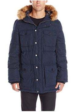 New Tommy Hilfiger Men's Micro Twill Full-Length Hooded Parka Coat online - Newofferclothing Mens Parka Jacket, Parka Coat, Parka Jackets, Men's Jacket, Best Parka, Types Of Jackets, Tommy Hilfiger Jackets, Hooded Parka