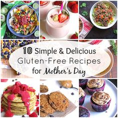 10 Gluten-Free Recipes for Mother's Day