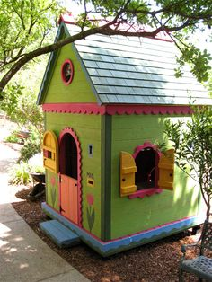 ♥ whimsy I would love to have one of these for the girls