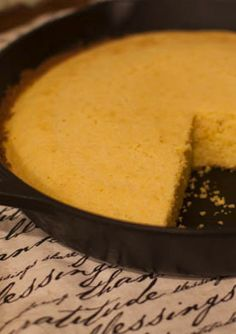 Buttery Southern Skillet Cornbread- freaking good! Just use fine ground corn meal. Med was a little to course. Cooked 17 min