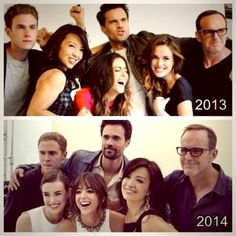 """20 Behind-the-Scenes Snaps: Why We Love """"Agents of S.H.I.E.L.D."""" - Stars Brett Dalton, Ming-Na Wen, and Chloe Bennet know how to have a blast on and off the set."""
