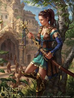 Legend of the Cryptids - Diula reg. by anotherwanderer.deviantart.com on…