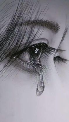 Art Drawings Beautiful, Dark Art Drawings, Realistic Drawings, Amazing Drawings, Amazing Gifs, Detailed Drawings, Amazing Photos, Easy Pencil Drawings, Easy Charcoal Drawings