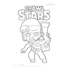Brawl Stars Archives - Color for fun Blow Stars, Star Coloring Pages, Sailor Moon, Outline, Skylanders, Fan Art, Drawings, Pictures, Fictional Characters