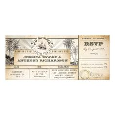 18 Best Boarding Pass Invitation Template Images Invitation Cards