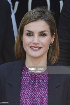 Queen Letizia of Spain attends a meeting with 'Mujeres Por Africa' foundation at the Cecilio Rodriguez Garden on November 16, 2015 in Madrid, Spain.  (Photo by Carlos R. Alvarez/WireImage)