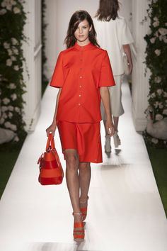 Pin for Later: The Ultimate Guide to Spring & Summer's Big Fashion Colour Trends Red Rush Mulberry Spring 2014