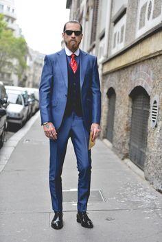 very dapper today Mr. O'Shea. Paris. #JustinOShea