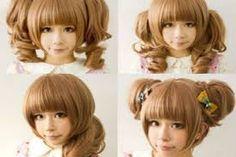 Resultado de imagen para cortes de cabello largo tipo anime
