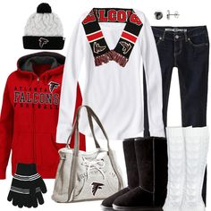 Atlanta Falcons Winter Fashion